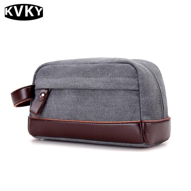 Pu Leather Canvas Handbag Canvas Ladies Casual Bag Vintage Women S