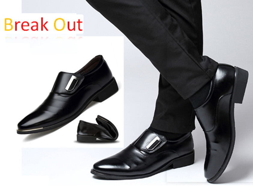 Business Men Shoes High Quality Leather Shoes Men,Wedding Shoe,Men Dress Shoes,British Style Fashion Men Oxford For Male Father