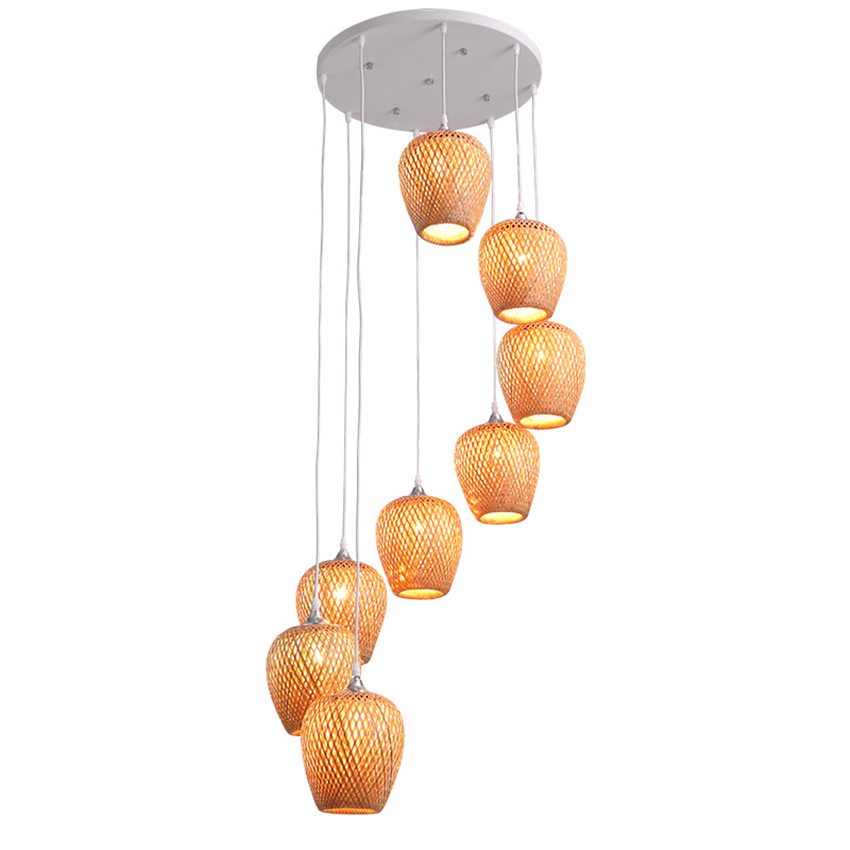 Modern Lights LED E27 Vintage Loft Chandeliers Bedroom Dining Room Pendant Lamps Hotel Lobby Hanging Lamps Kitchen Light Avize цена