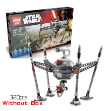 LEPIN STAR WARS 320pcs Homing Spider Droid  Spaceship Clone War Building Blocks Bricks legoee Starwars Toy