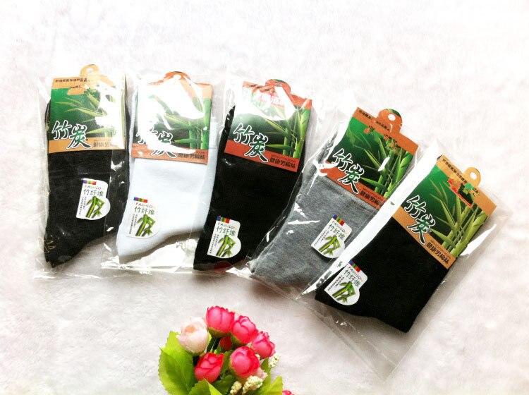 5 pair Men Socks High Quality 2015 New Bamboo Men Socks cotton Autumn-Winter socks socks for men free Size johnnn