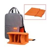 Laptop Backpack PC Bag Case Waterproof Rucksack Multifunctional Backbag for Camera Lens Accessories
