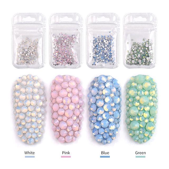 1pack Crystal Opal Nail Art