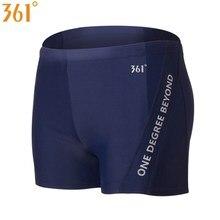 361 Swimming Trunks Men Swimwear Professional Tight Shorts Quick Dry Boys Swimsuit Plus Size Swim Trunk Racing Training