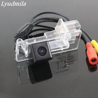 Lyudmila FOR Renault Grand scenic 2 II 2003~2009 / HD CCD Night Vision Back up Reverse Camera Parking Camera / Rear View Camera