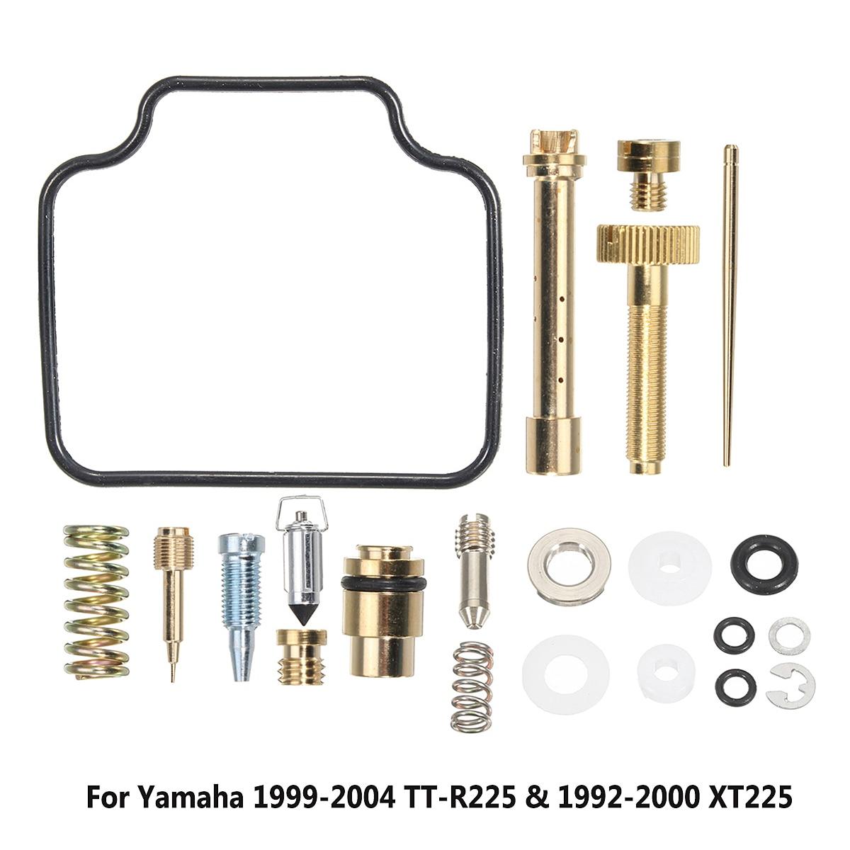 Vergaser Carb Rebuild Kit Fit für Yamaha 1999-2004 TT-R225 & 1992-2000 XT225