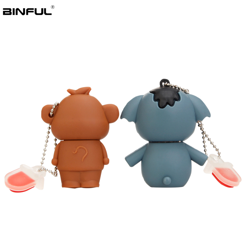Image 5 - Cute Cartoon Pig Usb Flash Drive 16gb 2.0 Pen Drive 4gb 8gb 32g 64g 128g High Quality Usb Stick Best Gift Pendrive Free Shipping-in USB Flash Drives from Computer & Office