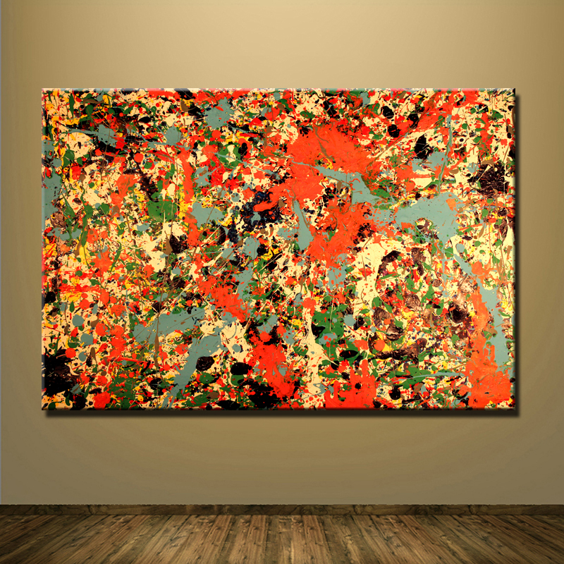 Jackson pollock paintings reviews online shopping for Jackson 5 mural