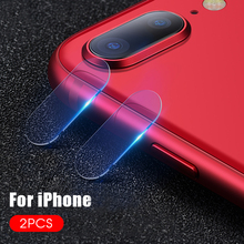 2PCS Camera Lens Screen Protector For iPhone XS Max XR X 7 8 Plus Back Camera Lens Film Protective Glass Tempered Glass