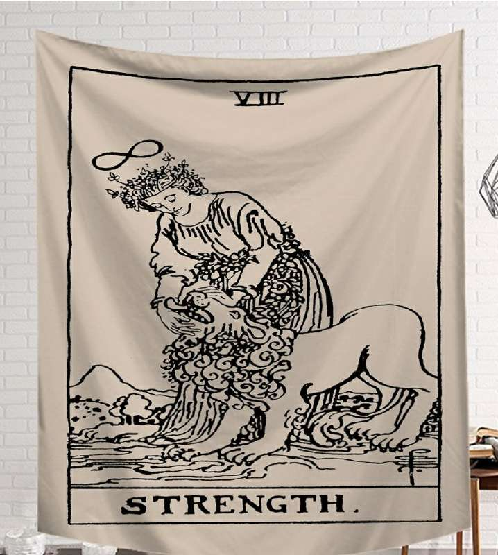 Image 2 - CAMMITEVER Black White Devil With Wings Classic European Styles Tapestries Beach Tapestry Printing Wall Hanging Art Collection-in Tapestry from Home & Garden