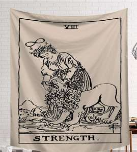 Image 2 - CAMMITEVER Black White Devil With Wings Classic European Styles Tapestries Beach Tapestry Printing Wall Hanging Art Collection