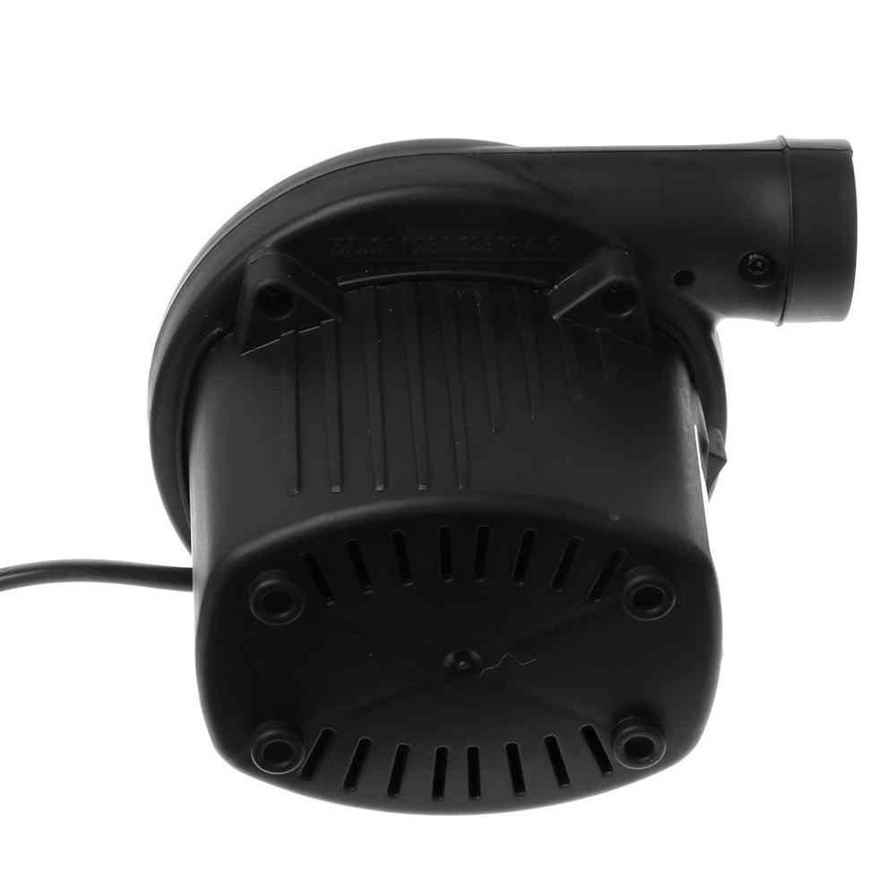 Воздушная кровать компрессионный мешок матрас AC Электрический воздушный насос надувать дефлят для игрушек