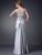 Cecelle 2016 Duas Peças De Prata Da Sereia Mãe Dos Vestidos de Noiva Com Jaquetas de Renda Frisado Mãe Formal dos Vestidos de Noite Real