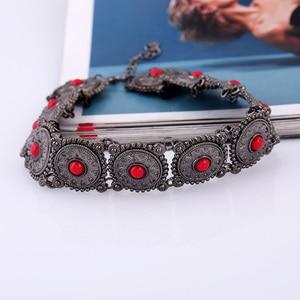 Ожерелье женское, в этническом стиле, бохо, воротник с бусинами, 3 вида цветов
