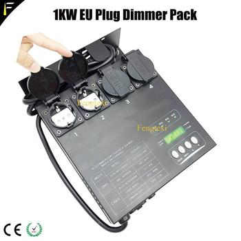 DMX/MIDI controllable 4 Channel DMX Dimmer Multi Switch Pack For Traditional Stage Light Fixture Equipment