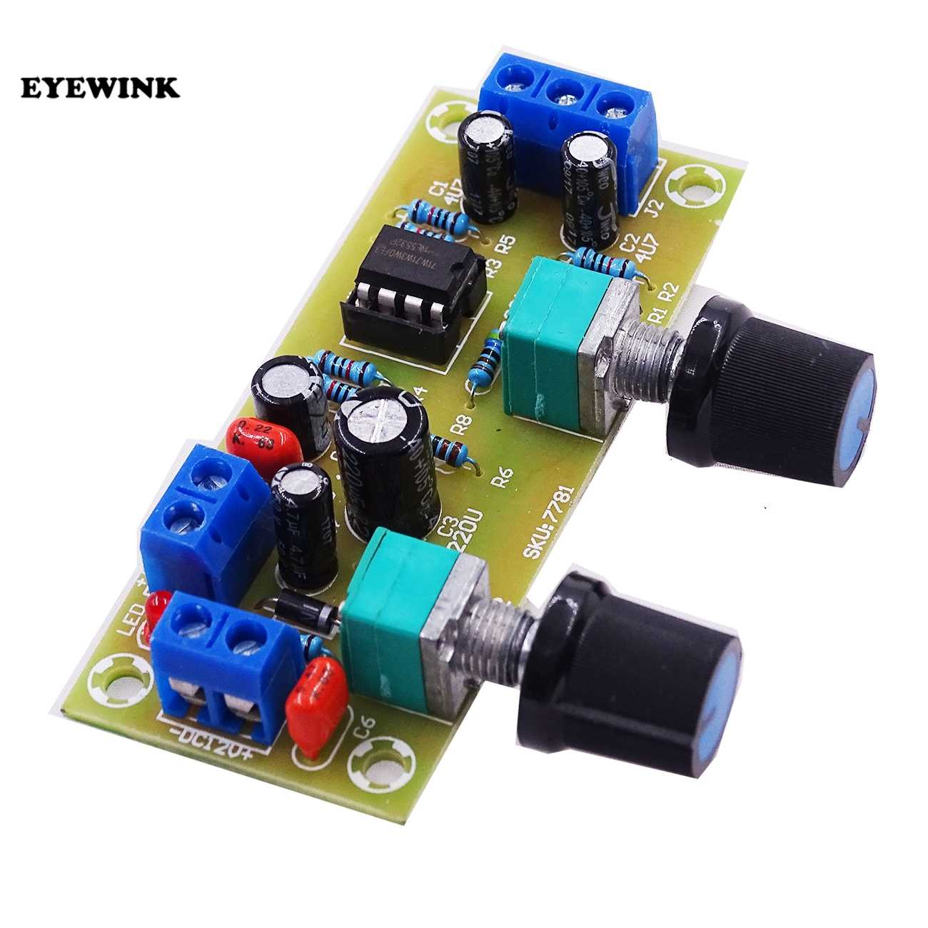 Detail Feedback Questions About Single Power Dc10 24v Low Pass Lowpass Filter Subwoofer Frequency Circuit Board Ne5532 Opamp Chip High Precision Supply Preamp 21 Channel Dc 10