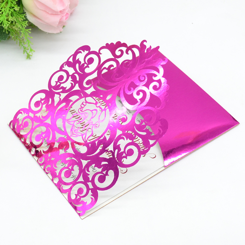 Ganesh Chaturthi Invitation Card Wedding Laser Cut Card Indian Wedding Invitation Cards Cards Invitations Aliexpress