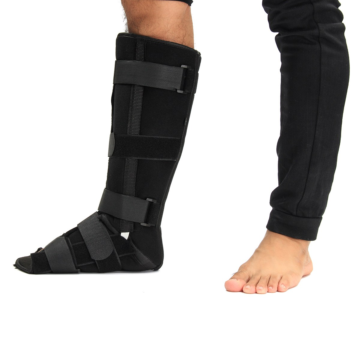 Hot sale S/M/L Size Safety Ankle support Sport Elastic Splint Strap Foot Support Orthosis Stabilizer Brace Guard Ankle Protector