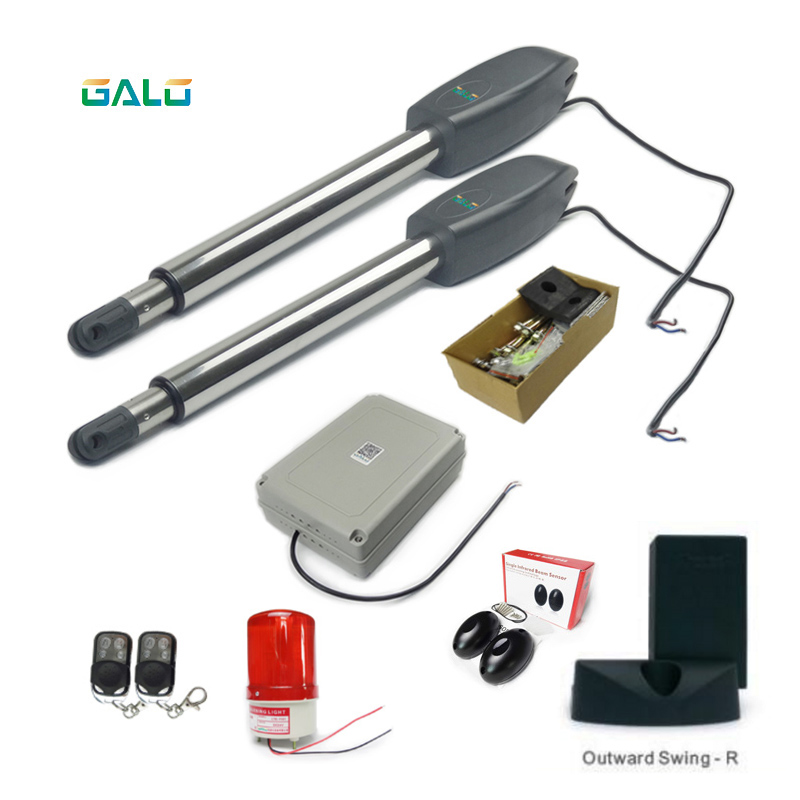Swing Gate Opener/Electrical gate Operators motors linear actuator with remote control kit optional 400kg