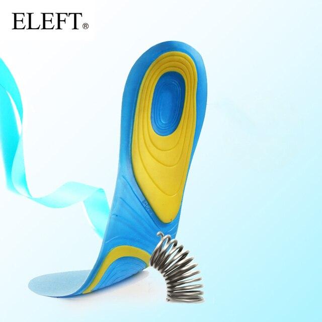 ELEFT Silikon spor ayakkabılar ped rahat jel tabanlık erkek masaj tek kadın ortez tabanlık ekler şok emme pedleri