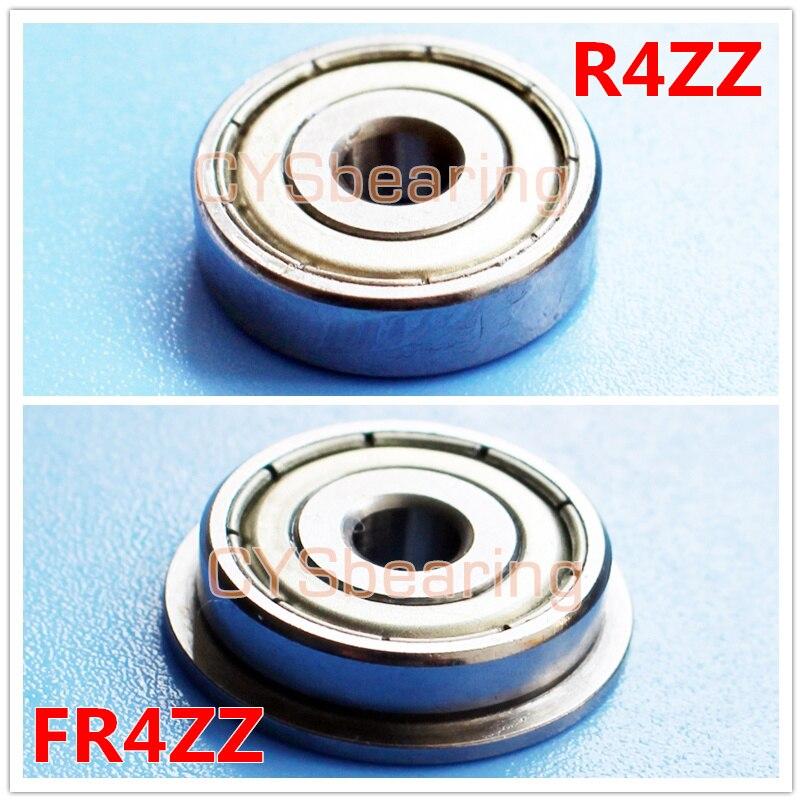 MR104ZZ 4x10x4mm 10 Pcs Métal Double Blindé Roulement à billes Bearings 4*10*4