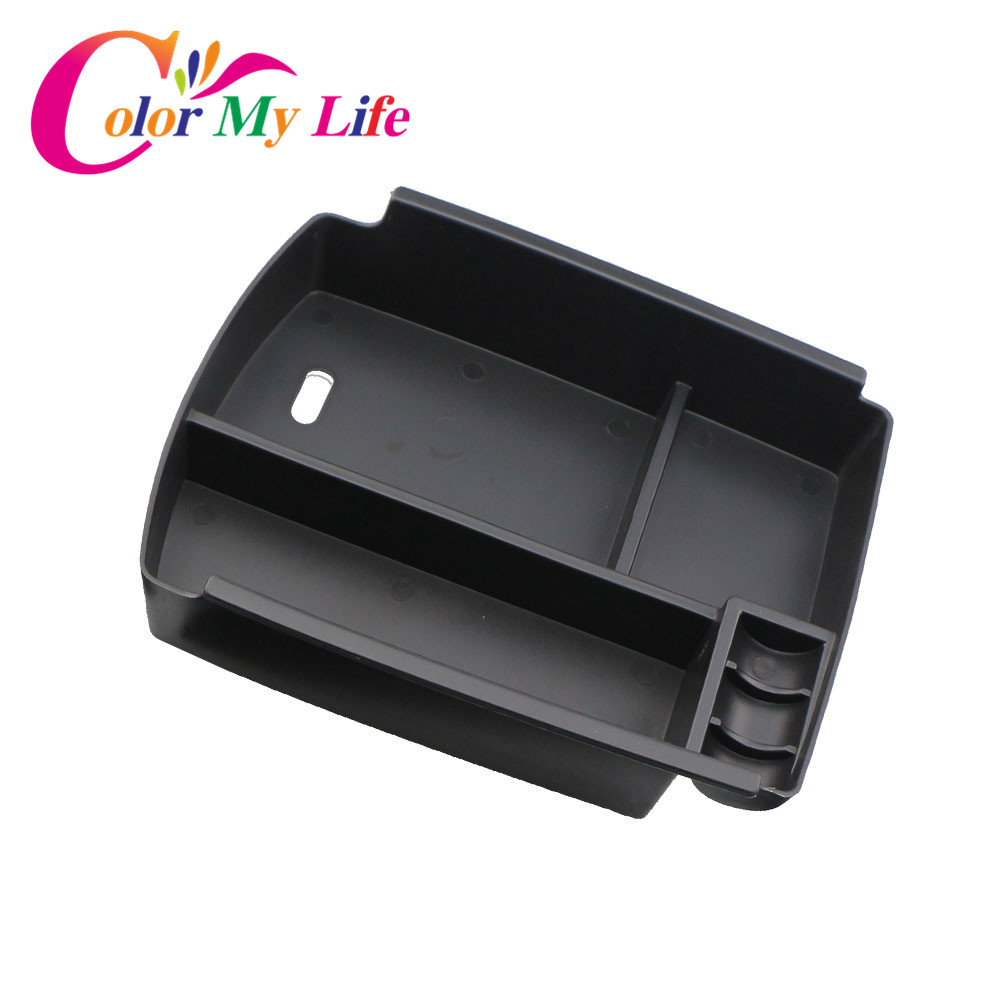 Color My Life Central Storage Pallet Armrest Container Box For Kia Sportage QL KX5 LHD (Not For Manual Car ) 2016 2017 Parts nichijou my ordinsry life 1