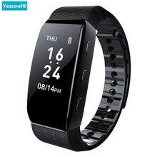 Yescool 8 ГБ Цифровой диктофон носимые Смарт-часы браслет спортивный шагомер браслет mp3-плеер Голосовая активация запись