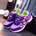 2017 Girls Sneaker Shoes For Children 'S Sports Casual Shoes Kids Spring/Autumn Breathable Student Girls Princess Shoes fashion