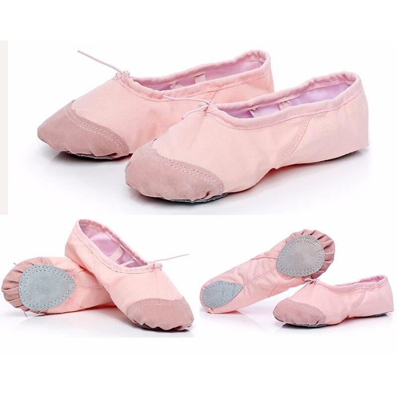 Enfant adulte Professionnel Ballet Pointe Chaussures De Danse Femmes Filles  Semelle Souple Ballet Chaussures Dacing Formation Chaussures Taille 26 42  dans ... 06f97f578625