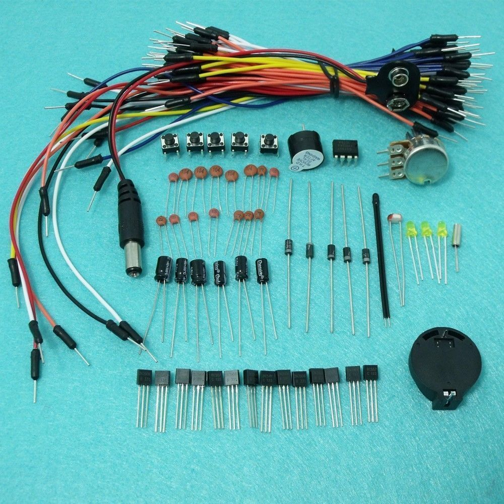 ASK 01 Electronic Project Starter Kit for Arduino Cable wire ...