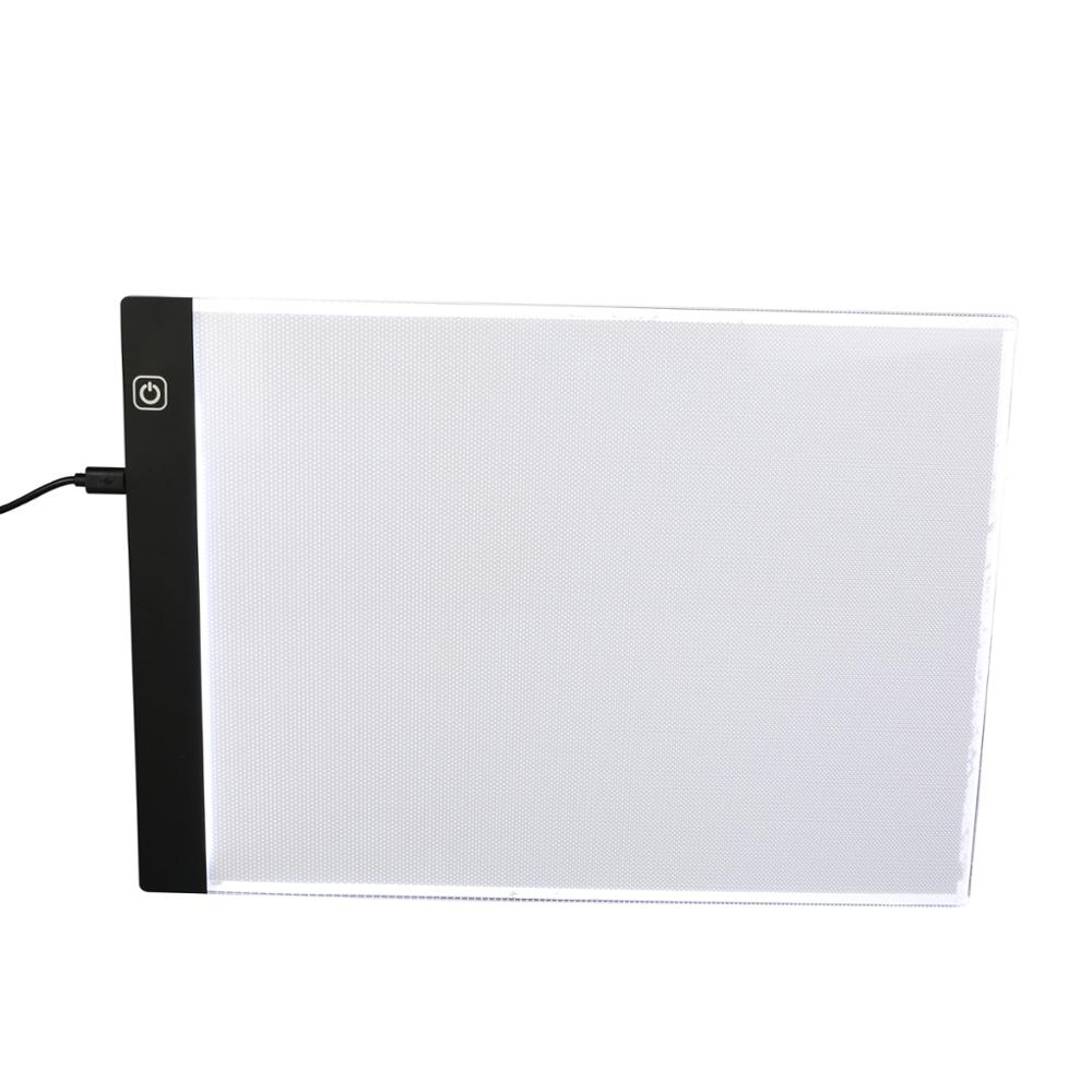 A4 Dimmable Brightness Ultra-thin Portable LED Light Box Tracer USB Power Cable LED Artc ...