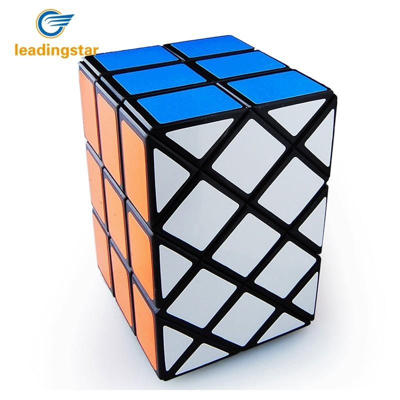 LeadingStar Strange-shape Magic Speed Cube 3rd Cube Professional Speed Puzzle Cubes Cubo Magico Double Fish Cube Learning