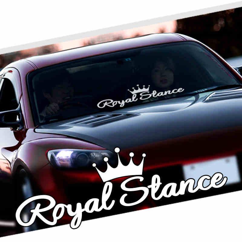 Noizzy Royal Stance Decal Car Sticker Crown JDM Vinyl