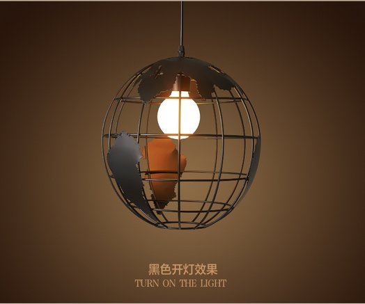 Industrial round iron pendant light metal diy loft globe pendant industrial round iron pendant light metal diy loft globe pendant post modern lamp fixtures for mozeypictures Choice Image