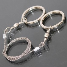 Hand Chain Saw Survival Fretsaw Chain Saw Emergency Outdoor equipment Steel Wire Saw Hunting Kits Pocket Gear