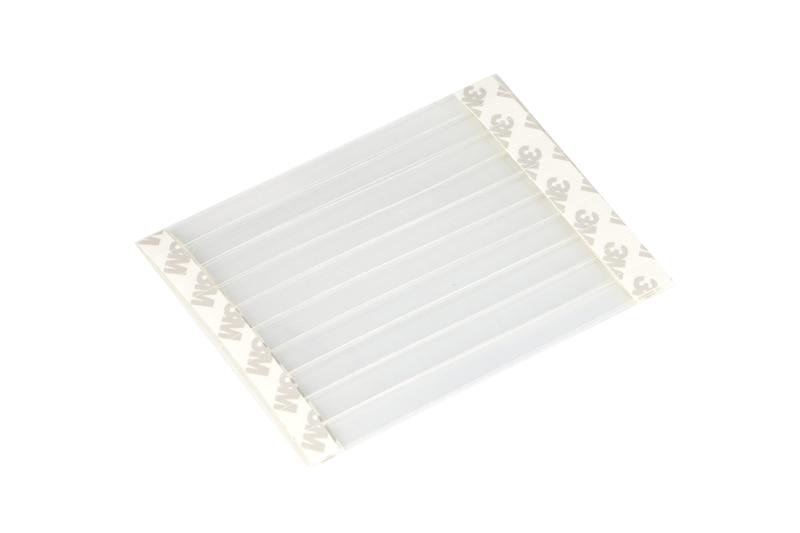 1*14cm POP Advertising Sign Holder Shelf Price Tag Display POP Shelf mount Transparent Shaking Wobbler label holder jumping card