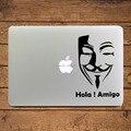 """V Значит Вендетта Маски Создание Ноутбука Наклейка Наклейка для Apple MacBook 11 """"13"""" 15 """"искусства Adesivo Pegatinas para Notenbook"""
