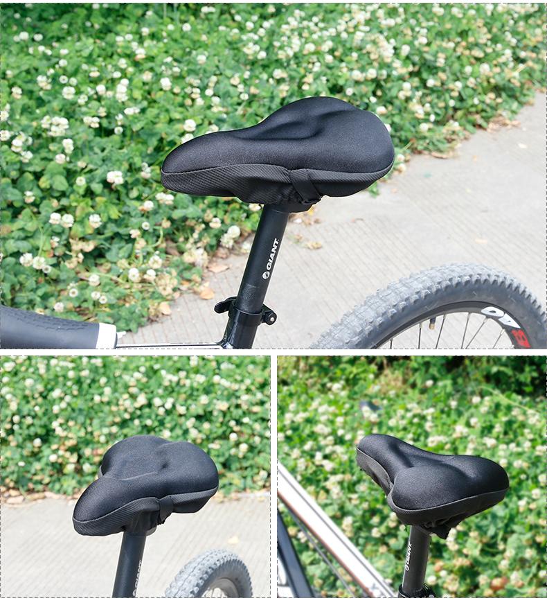 Bicycle Bike Cycle Saddle Road Mountain Sports Soft Gel Seat Pad Cushion O7T5