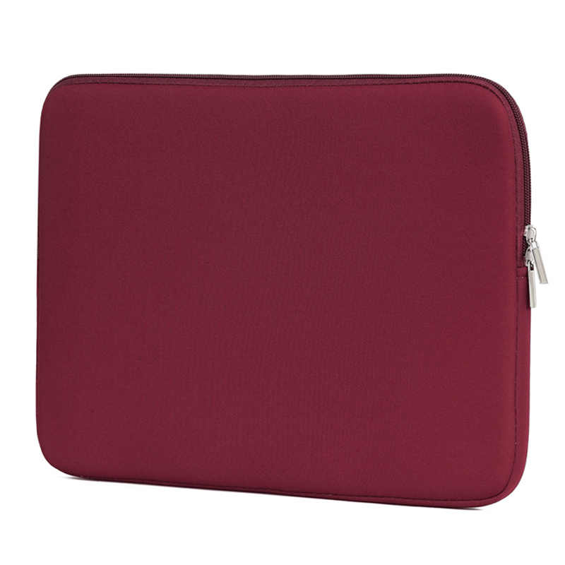 Saco do portátil para macbook ar pro retina 11 12 13 14 15 15.6 polegada luva do portátil caso pc tablet caso capa para xiaomi ar hp dell