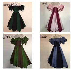 Женское длинное платье 2021 в винтажном стиле; Сезон осень футболка с короткими рукавами на шнуровке в ретро-стиле длинное платье es элегантны...