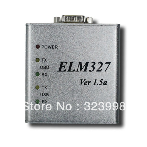 10pcs/lot ELM 327 1.5V USB CAN-BUS Scanner ELM327 usb