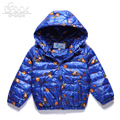 SP-SHOW Winter Autumn Children's Outwear Hooded Jacket Boy And Girl Coats Clothing Down And Parkas For 6-14 Age Soild  2153