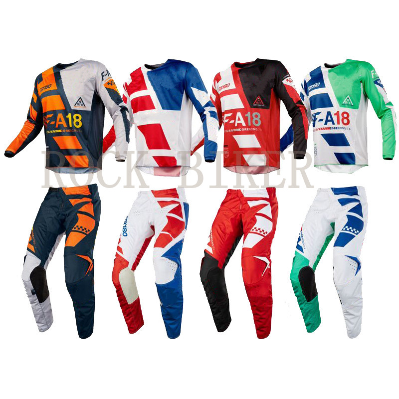 все цены на Free Shipping 2018 SAYAK Motocross Racing Suit MX MTB DH Mountain Dirt MotorBike Jersey & Pants Off-Road Riding Gear Clothing