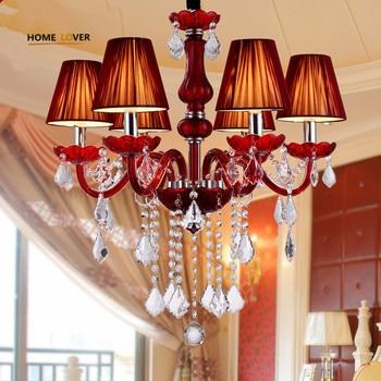 現代のクリスタルシャンデリアホーム照明 K9 クリスタル lustres パラ四台所寝室リビングルームは、現代のシャンデリア