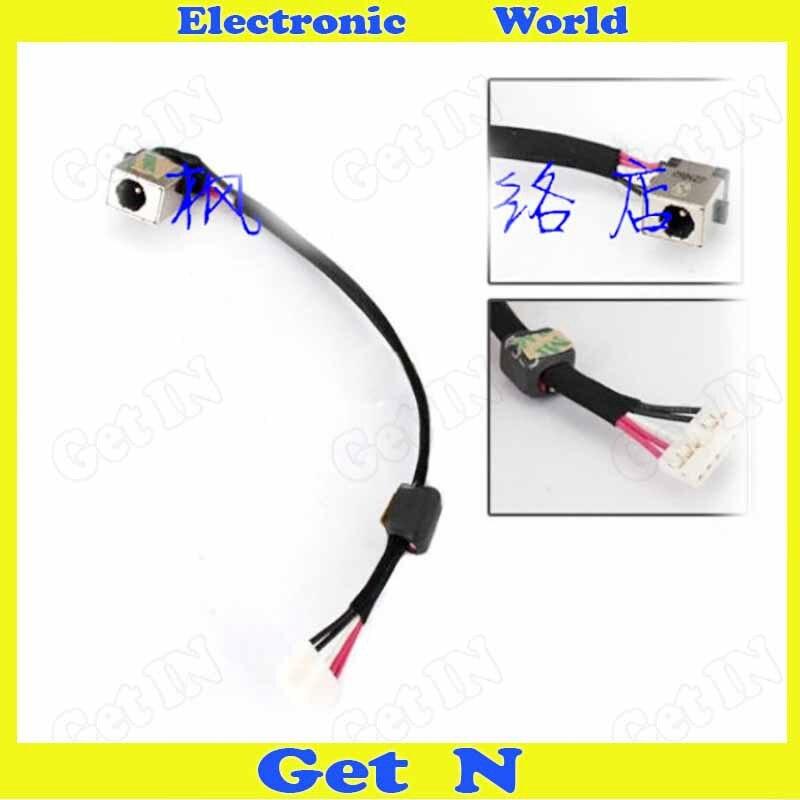 10pcs/lot DC Power Jack with Cable For Acer Aspire 5530 5532 5534 Laptop DC Power Socket dc power jack cable connector for acer aspire e1 e1 530 e1 570 570g 570p for gateway ne570 ne572 ne570p dc30100px00 50 mepn2 002