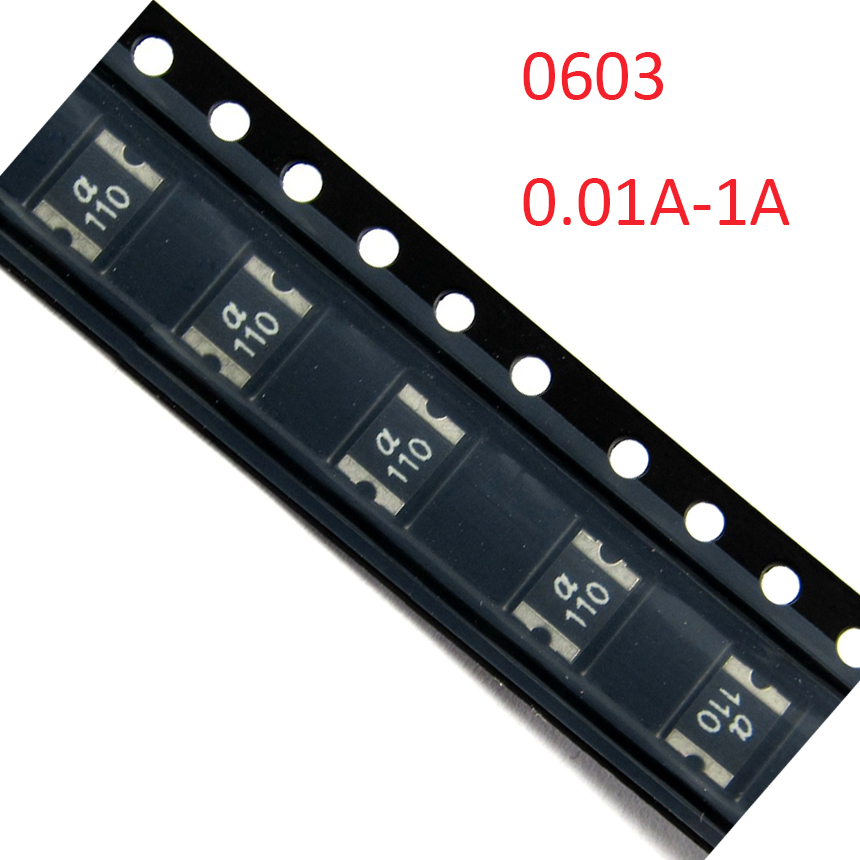 50Pcs 500MA//6V MT SMD Resettable Fuse PPTC PolySwitch Self-Recovery Fuses UK-1
