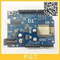 1 unids WeMos D1 WiFi uno basado ESP8266 shield para arduino Compatible IDE