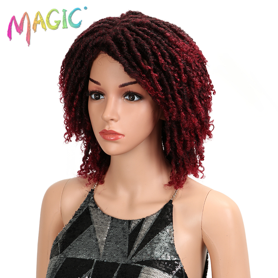 magic Curly Synthetic Wigs For Women 14