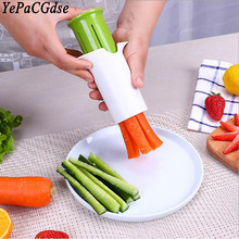 Creative stainless steel cucumber manual cutting machine Kitchen multifunctional carrot cutter fruit and vegetable tool