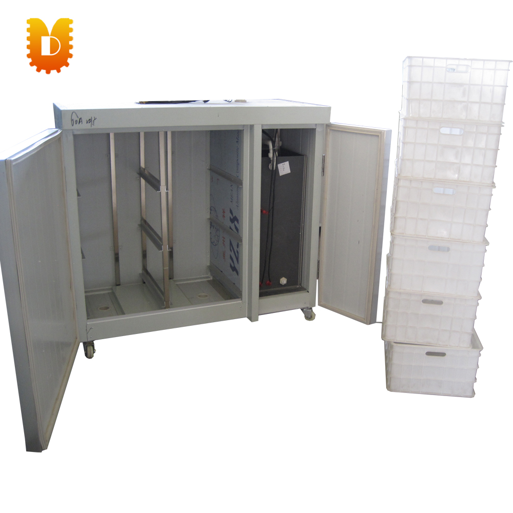 small capacity soybean sprouts making machine/ automatic mung bean sprout growing machine 48 boxes rootless mung bean sprout machine bean sprouting machine